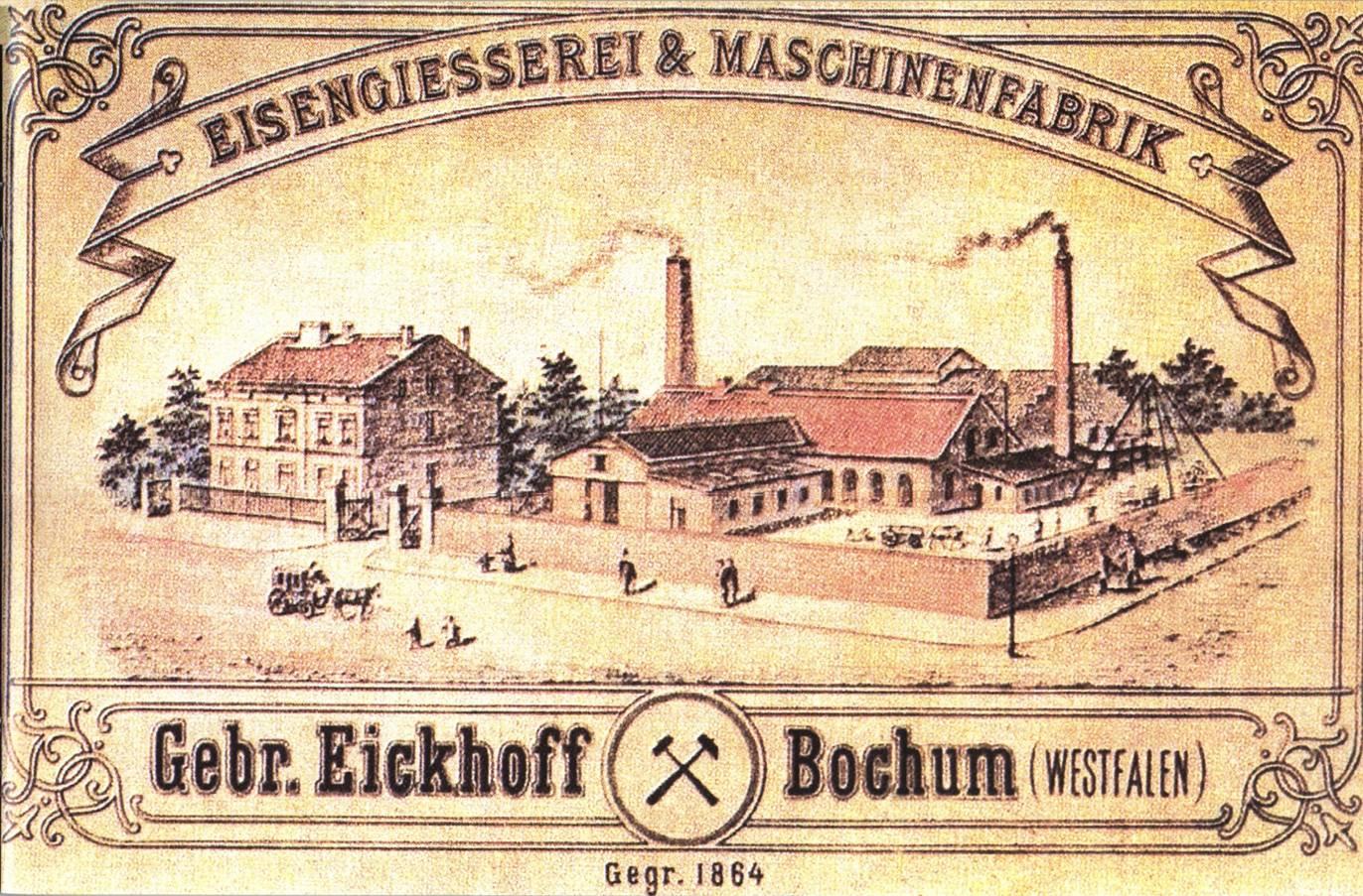 Historia grupy Eickhoff - rozwój